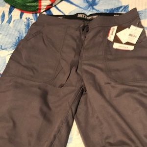 New grey's anatomy nickel small tall scrub pant